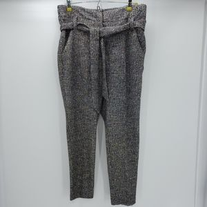 NY&CO 7th AVE DESIGN STUDIO paperbag waist pants